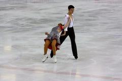 chiffre patinage global italien de 2009 championnats Photographie stock