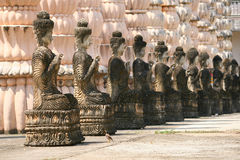Chiffre se reposant de Bouddha Photos stock