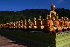 Chiffre se reposant de Bouddha Photos libres de droits