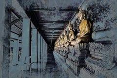 Chiffre se reposant de Bouddha Wat Arun, Temple of Dawn est un temple bouddhiste illustration stock