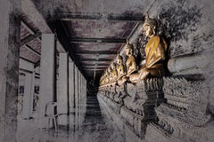 Chiffre se reposant de Bouddha Wat Arun, Temple of Dawn est un temple bouddhiste illustration libre de droits