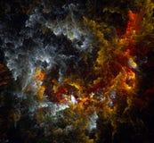 Chiffres abstraits multicolores Images libres de droits