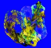 Chiffres abstraits multicolores Photographie stock libre de droits
