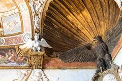 Chiffres décoratifs en Palazzo del Te dans Mantua Photographie stock libre de droits
