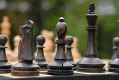 Chiffres d'échecs Photographie stock libre de droits