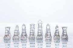 Chiffres d'échecs Photographie stock