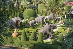 Chiffres d'éléphants Photo libre de droits