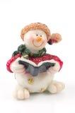 Chiffres de bonhomme de neige Images libres de droits