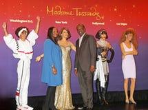 Chiffres de cire de Whitney Houston, Photo stock