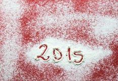 Chiffres de nouvelle année Images stock