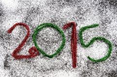 Chiffres de nouvelle année Image stock