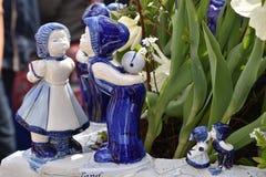 Chiffres de porcelaine Photographie stock libre de droits
