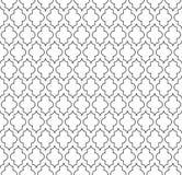 Chiffres géométriques circulaires conception de vecteur sans couture islamique de modèle d'ornement Images stock