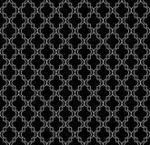 Chiffres géométriques circulaires conception de vecteur sans couture islamique de modèle d'ornement Images libres de droits