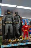 Chiffres grandeur nature de Batman images libres de droits
