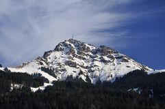 Chifre de Kitzbuheler Imagem de Stock Royalty Free