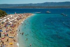 Chifre dourado na ilha de Brac na Croácia Imagens de Stock Royalty Free