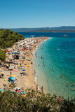 Chifre dourado na ilha de Brac na Croácia Imagens de Stock