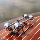 Chifres do barco. Imagem de Stock Royalty Free