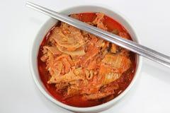Chigae kimchi Кореи Стоковое Изображение