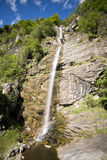 Chiggiogna waterfall, Cantone Ticino, Switzerland. Royalty Free Stock Images