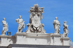 Chigi Family coat of arms, Vatican Royalty Free Stock Photography