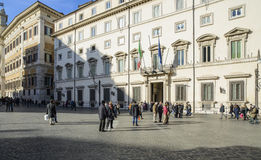 Chigi palace rome Italy europe Stock Images