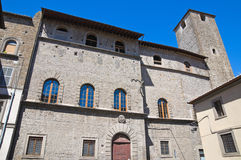 Chigi Palace. Viterbo. Lazio. Italy. Royalty Free Stock Photo