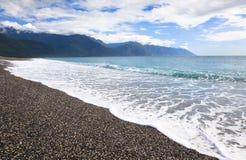 chihsingtan αμμοχάλικο παραλιών στοκ φωτογραφίες