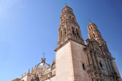 Chihuahua City Cathedral. Pic of the Cathedral of Chihuahua, Mexico Stock Images