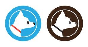 Chihuahua Dog Badge Symbol Logo Design Royalty Free Stock Image