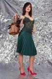 chihuahua dziewczyna Obrazy Royalty Free
