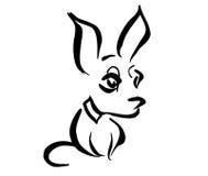 Chihuahua estilizada Imagen de archivo