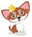 Chihuahua lubi princess ilustracji