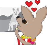 Chihuahua Movie stock illustration