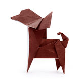 Chihuahua origami dog Stock Images