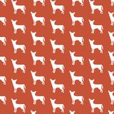 Chihuahua wallpaper. Decorative repeat pattern chihuahua wallpaper background design Stock Image