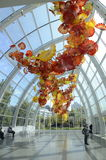 Chihuly Garden and Glass Museum in Seattle Royalty Free Stock Photos