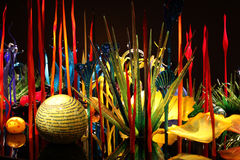 Chihuly Garden and Glass Stock Photo