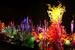 Chihuly Garden and Glass Stock Images