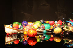 Chihuly Garden and Glass Royalty Free Stock Images