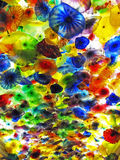 Chihuly Glass Flower Ceiling Stock Image