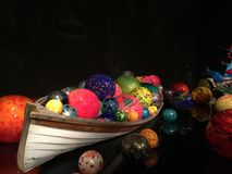 Chihuly glass museum art Royalty Free Stock Image