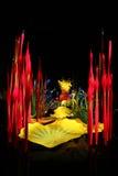 Chihuly glass skulptur Royaltyfria Foton
