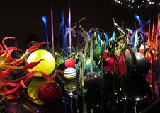 Chihuly indoor garden Royalty Free Stock Photography