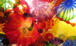 Chihuly Persian ceiling Stock Photography
