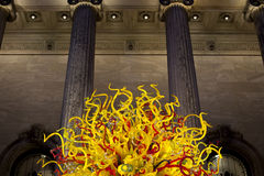 Chihuly's Sun 2 Stock Image