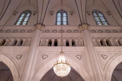 The chijmes building in Singapore royalty free stock photos