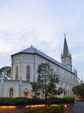 CHIJMES Cathedral in Singapore Stock Image