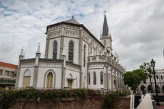 Chijmes on a Cloudy Day royalty free stock images